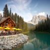 Cilantro Patio at Emerald Lake Lodge.
