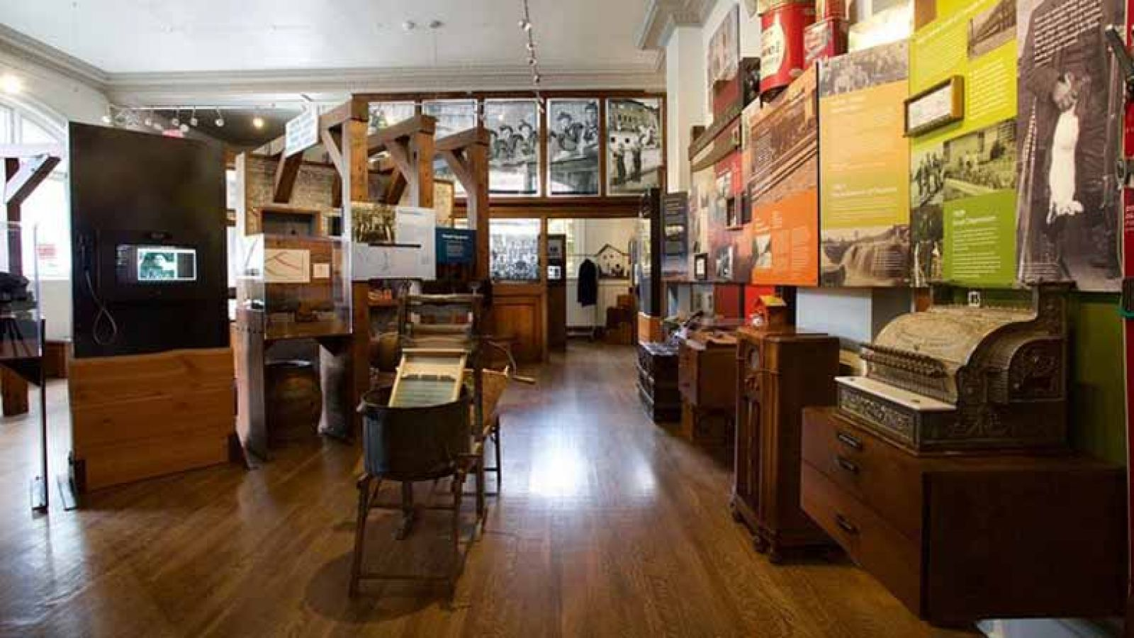 Explore Fernie's Heritage & Culture inside the museum.
