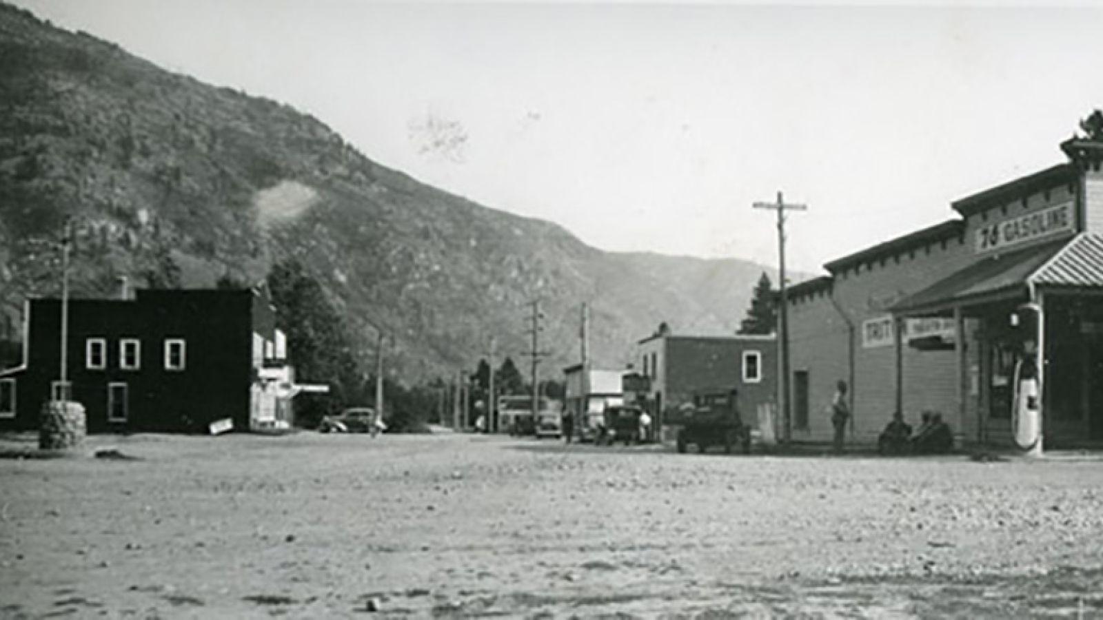 Salmo, BC circa 1950.