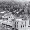 Downtown Sandon in 1942.