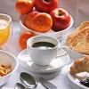 Complimentary breakfast.