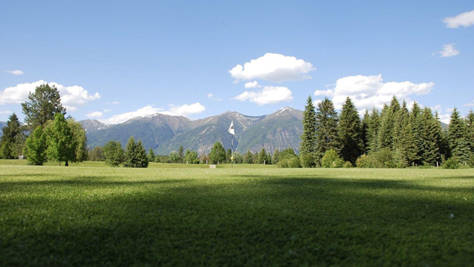 A wonderful golf course.