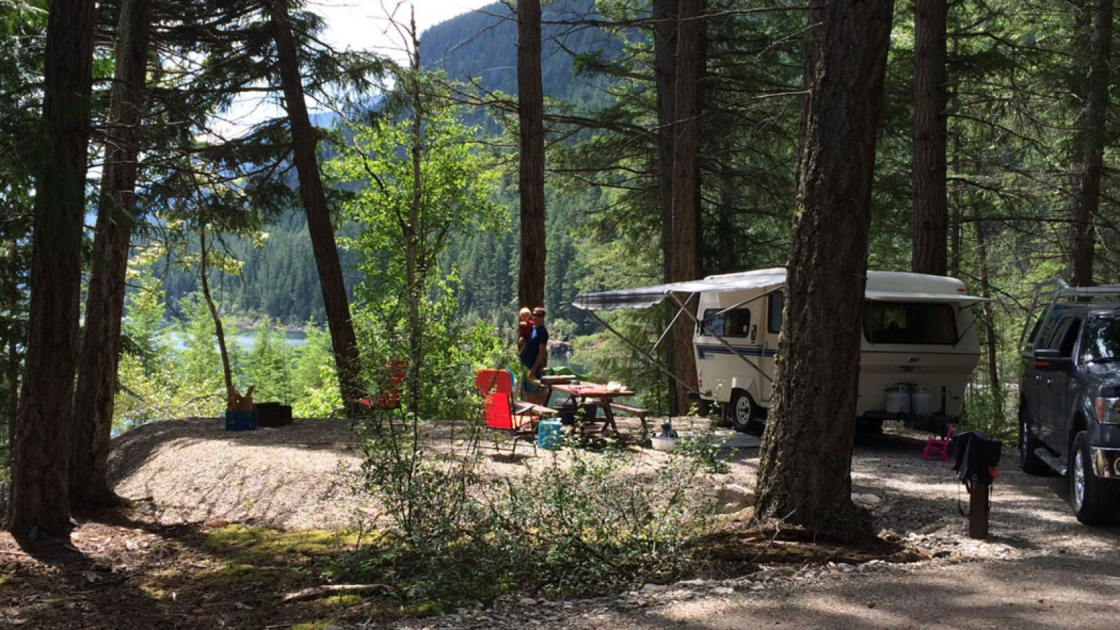 Davis Creek Campground.