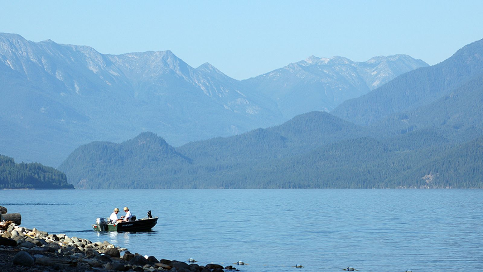 Beautiful Kootenay Lake.