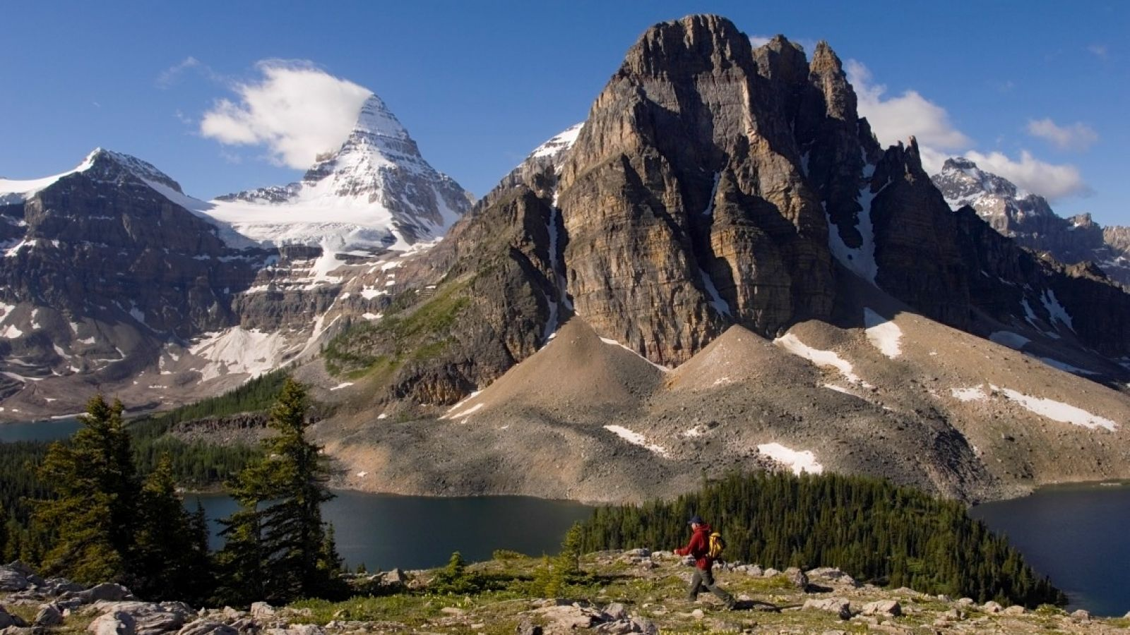 Hiking in Mt. Assiniboine Provincial Park