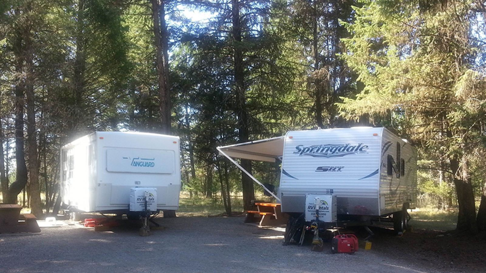 Kikomun Creek Provincial Park.