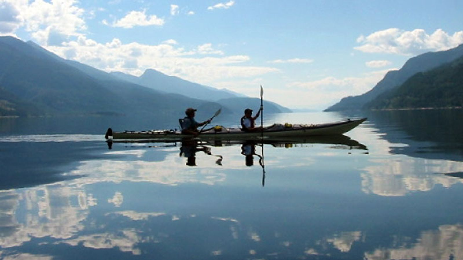 Kootenay Kayak Co. offers double sea kayak rentals.