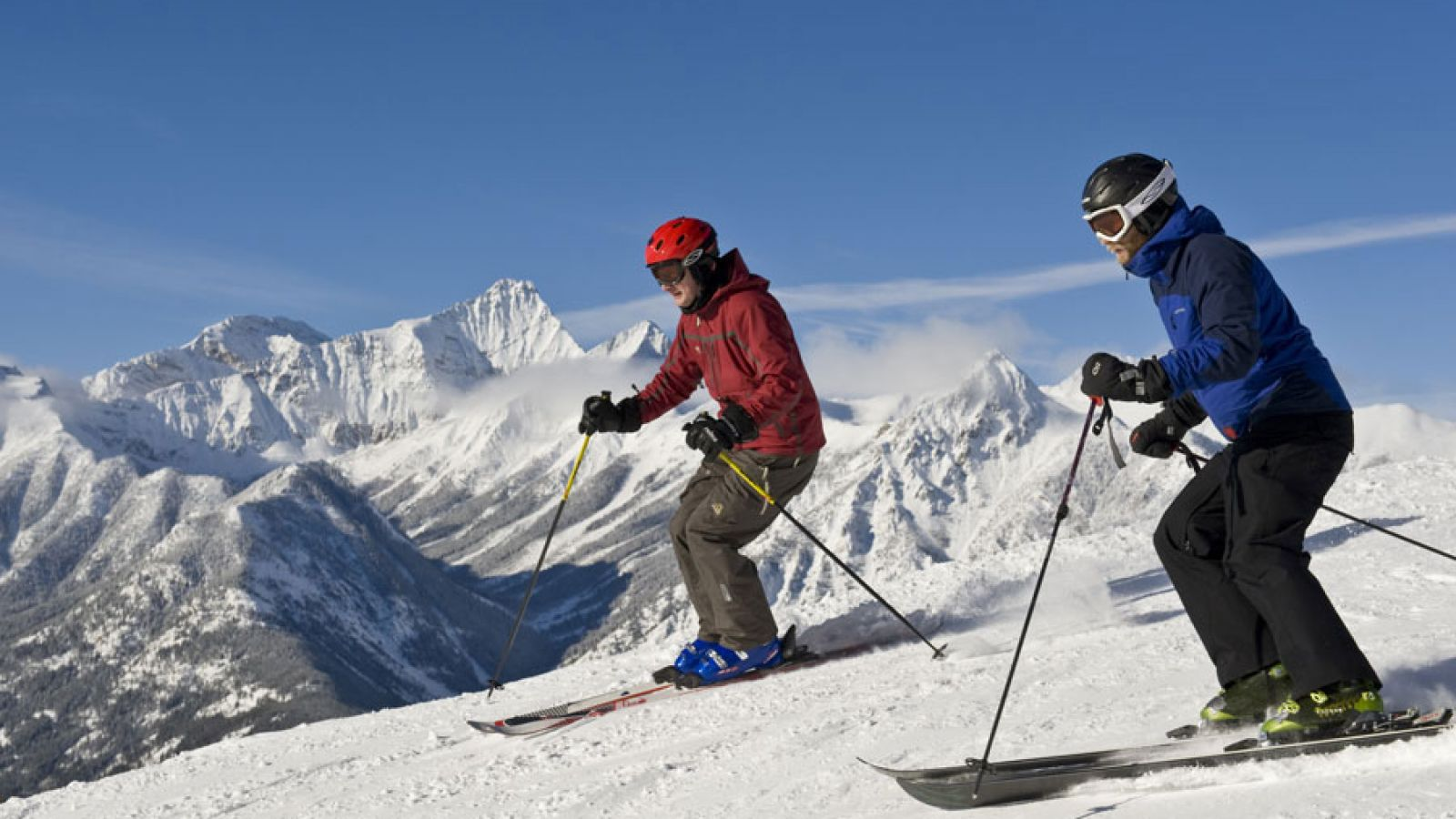 Panorma Mountain Resort offers some of North America's best skiing.