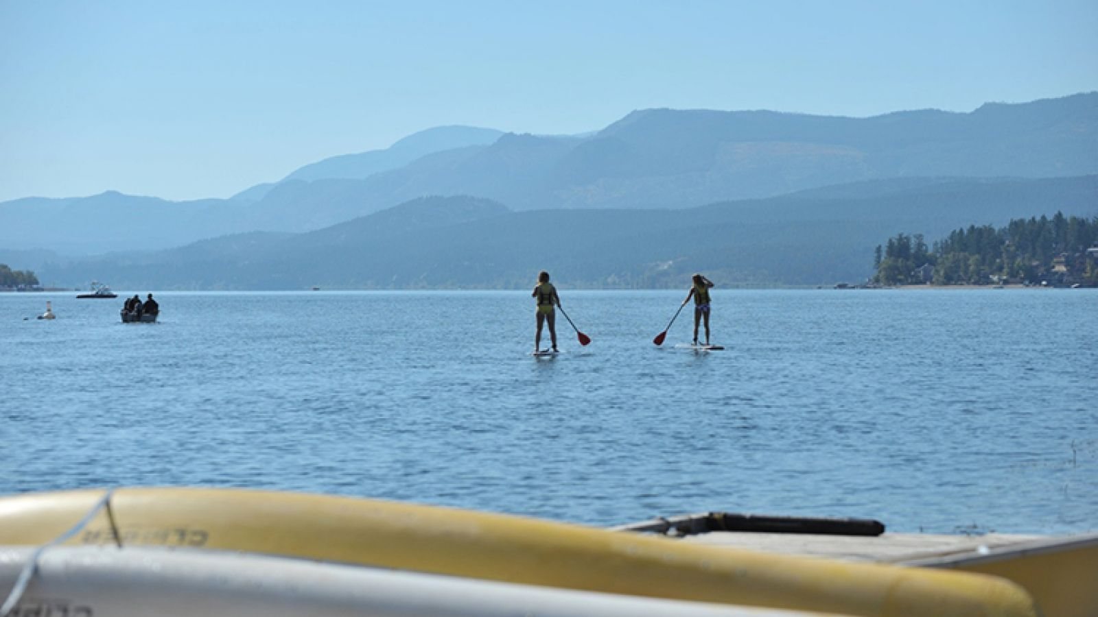 Lake Windermere - one of the region's warmest.