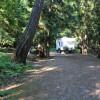 Spacious campsites.