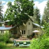 Located on 3 forested acres.