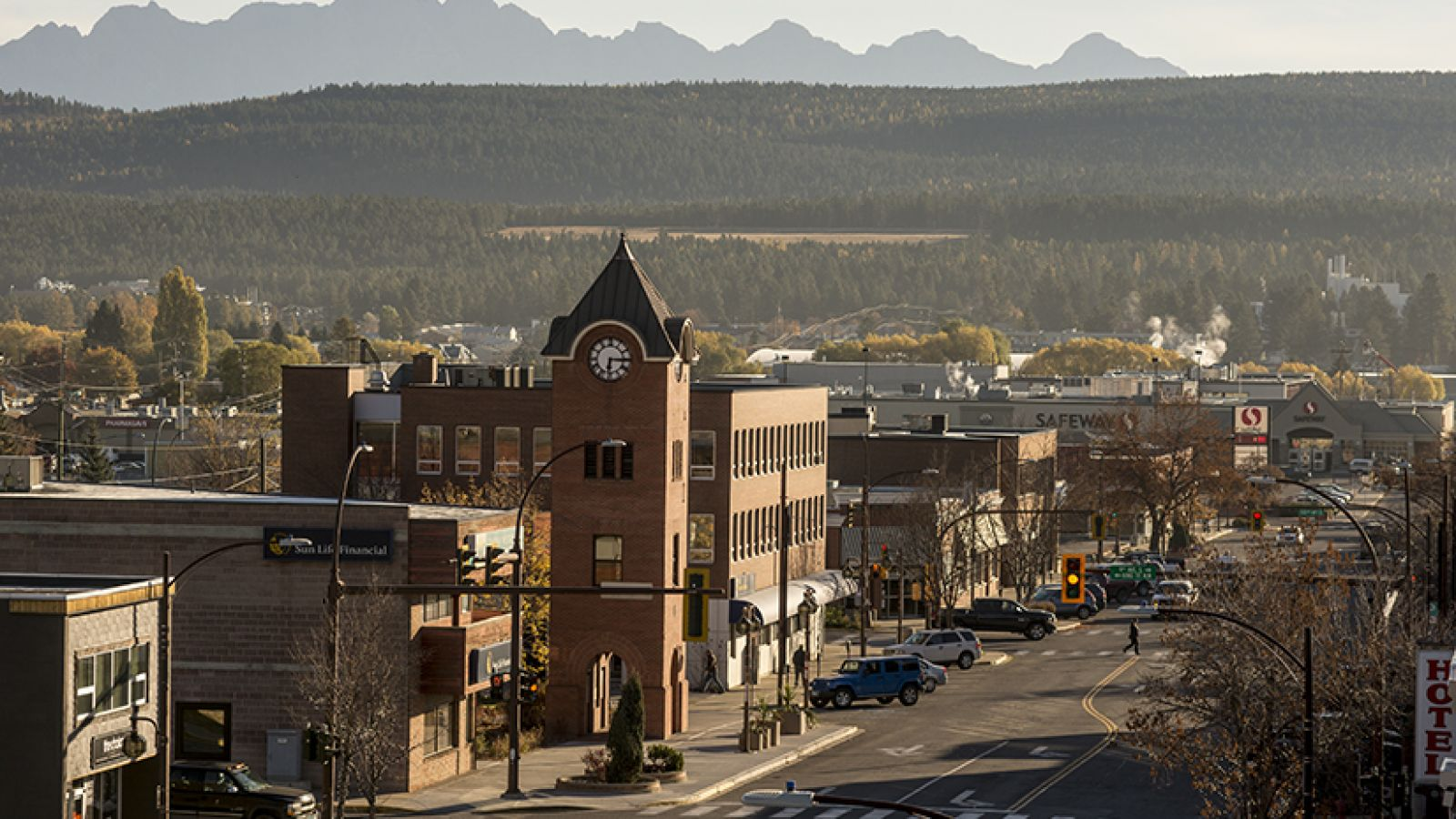 The city of Cranbrook.
