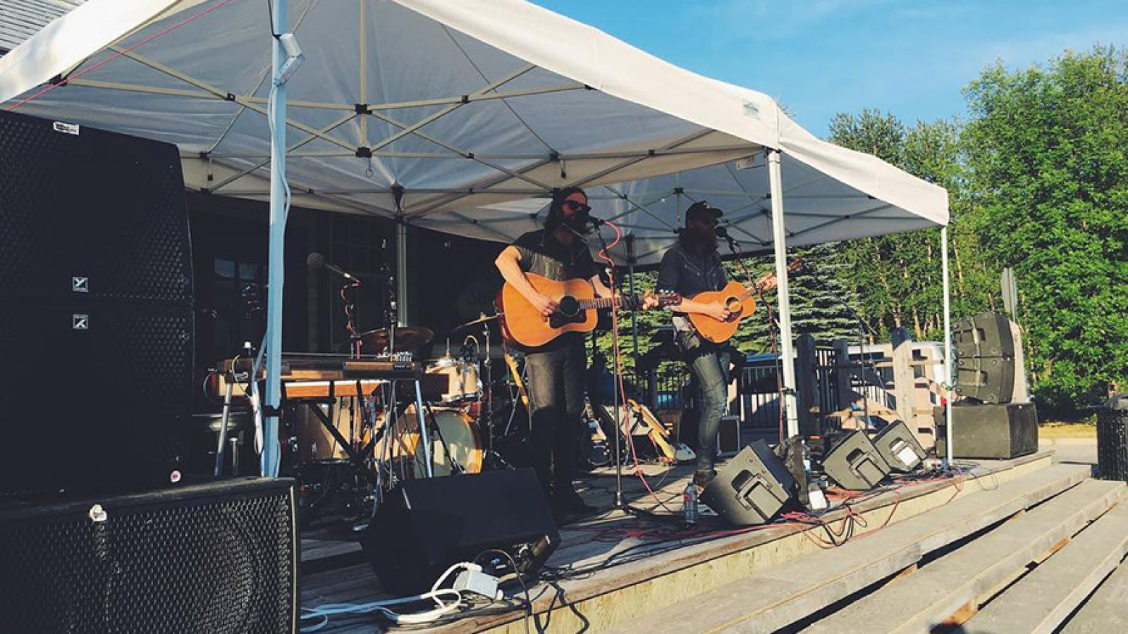 Free summer concerts at Station Square.
