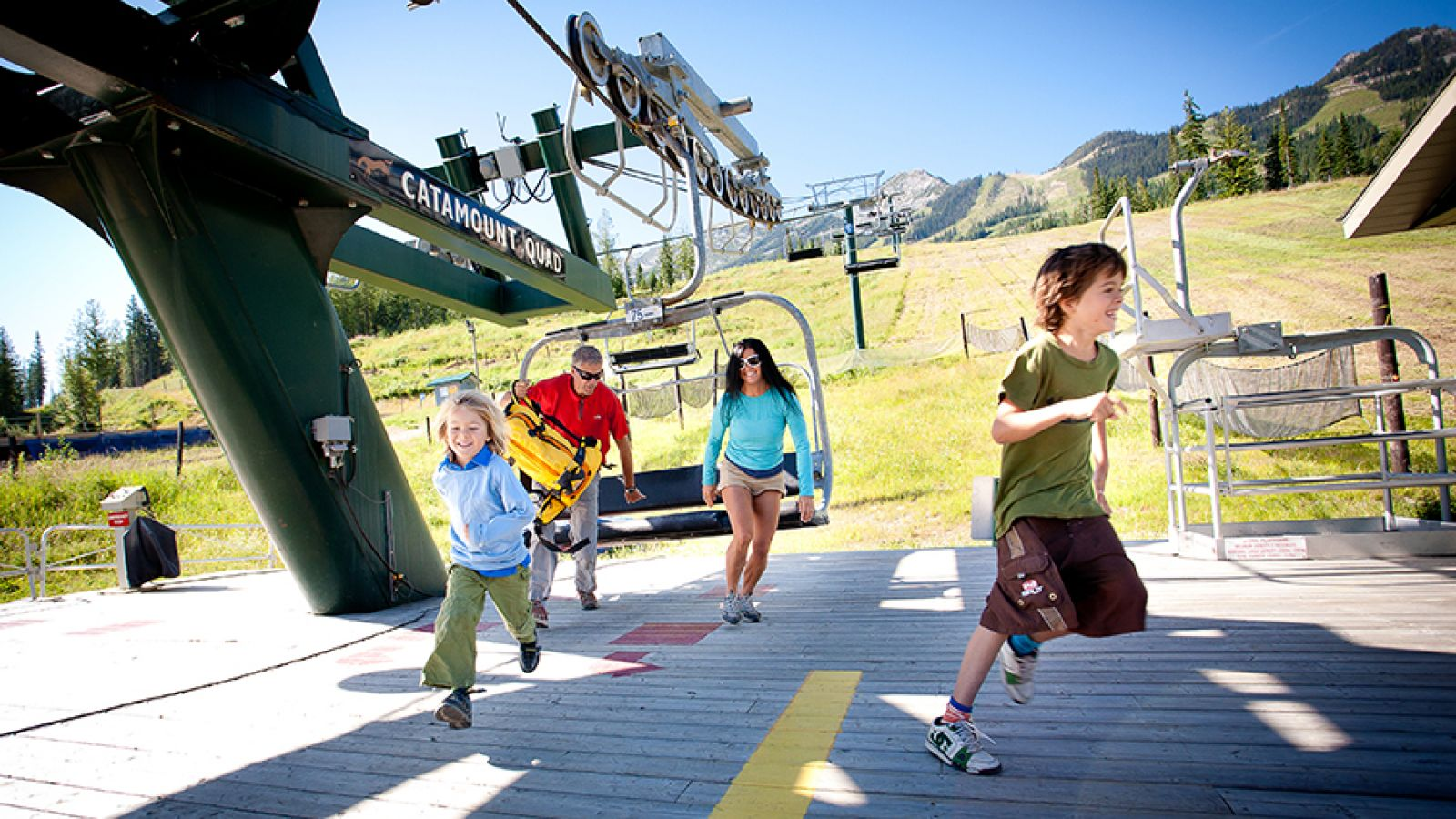 Enjoy summer at Kicking Horse Mountain Resort.