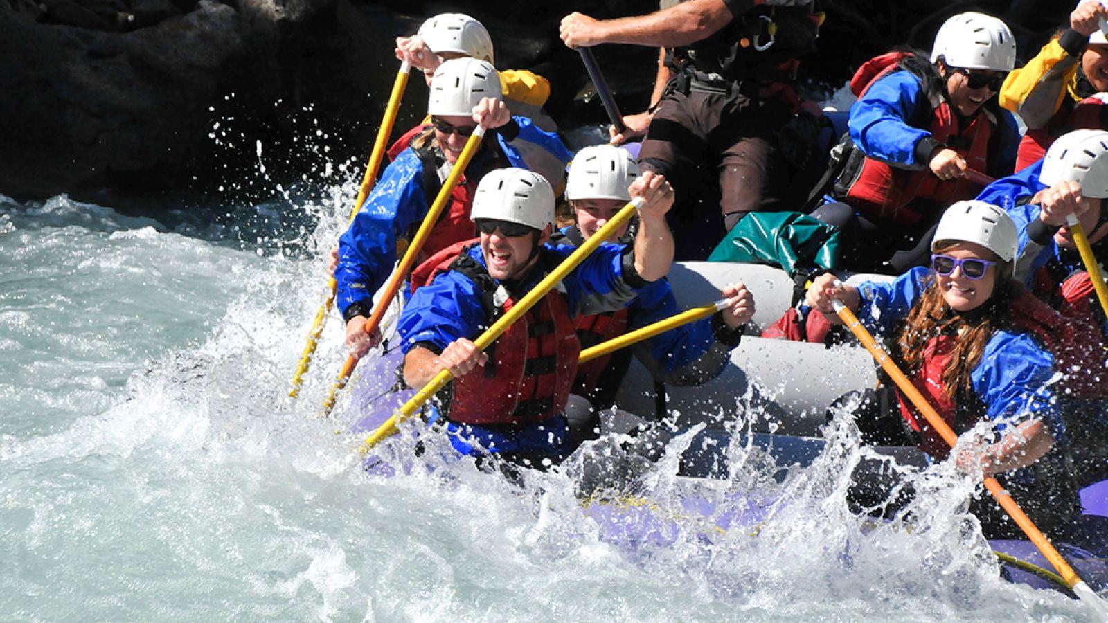 The fun and wild Illecillewaet River.