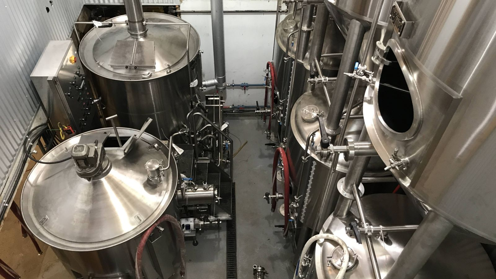Where the magic happens - Rossland Beer Co.