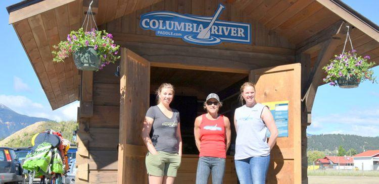 Columbia River Paddle