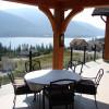 B&B accommodation with lake views.
