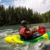 Kayaks available for lakes and white water.