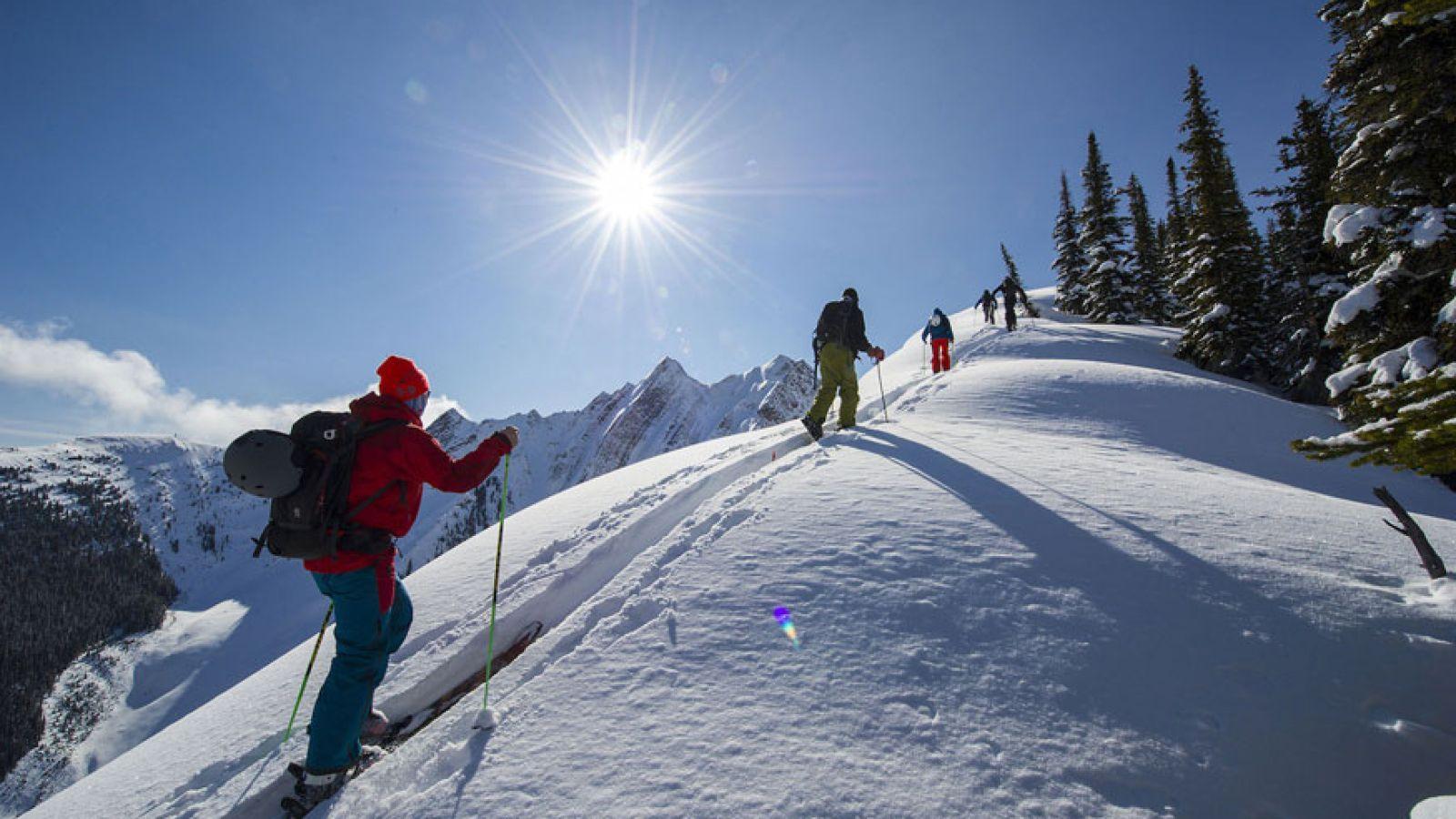 Ski Touring.