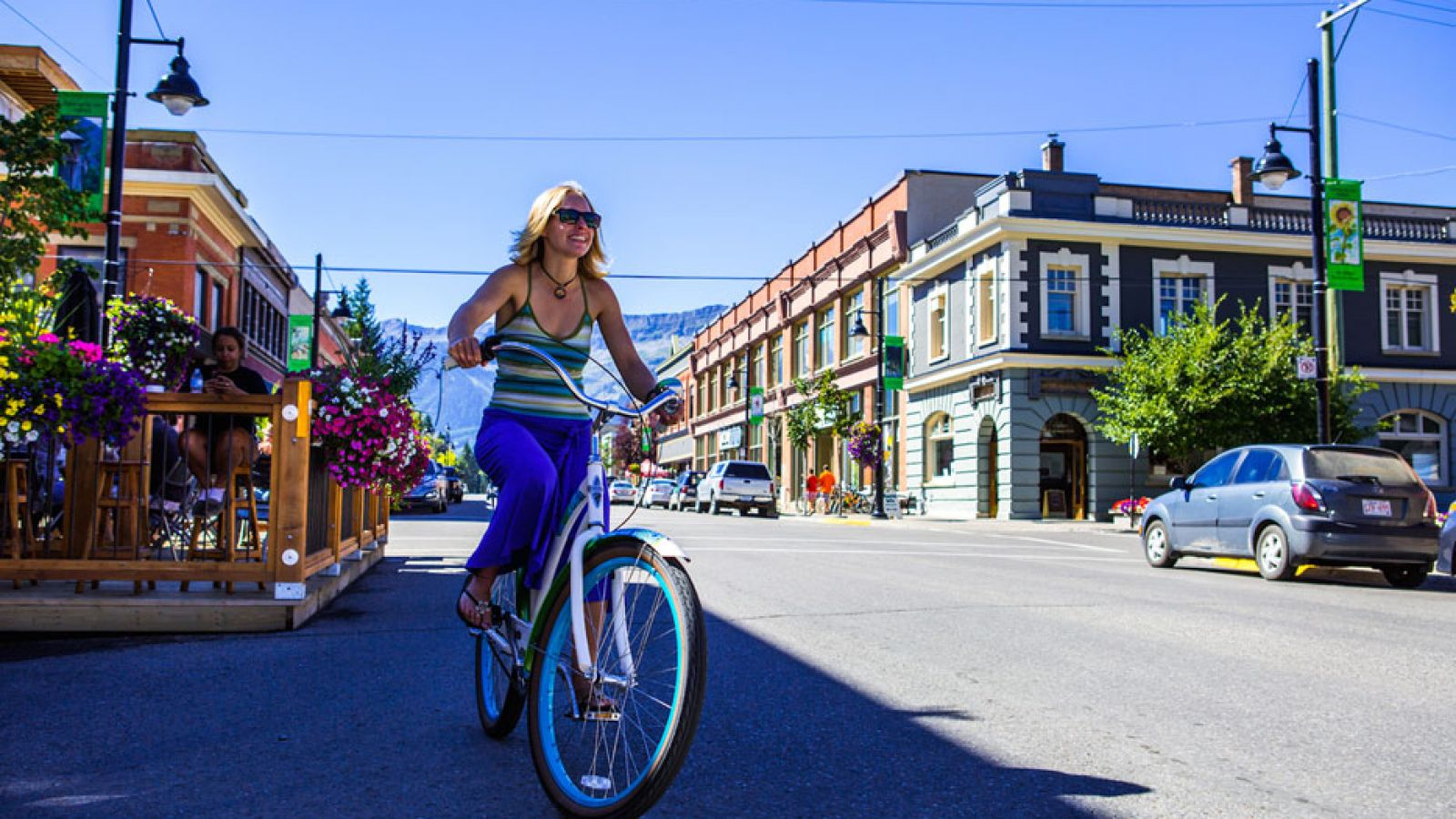 Downtown heritage Fernie.