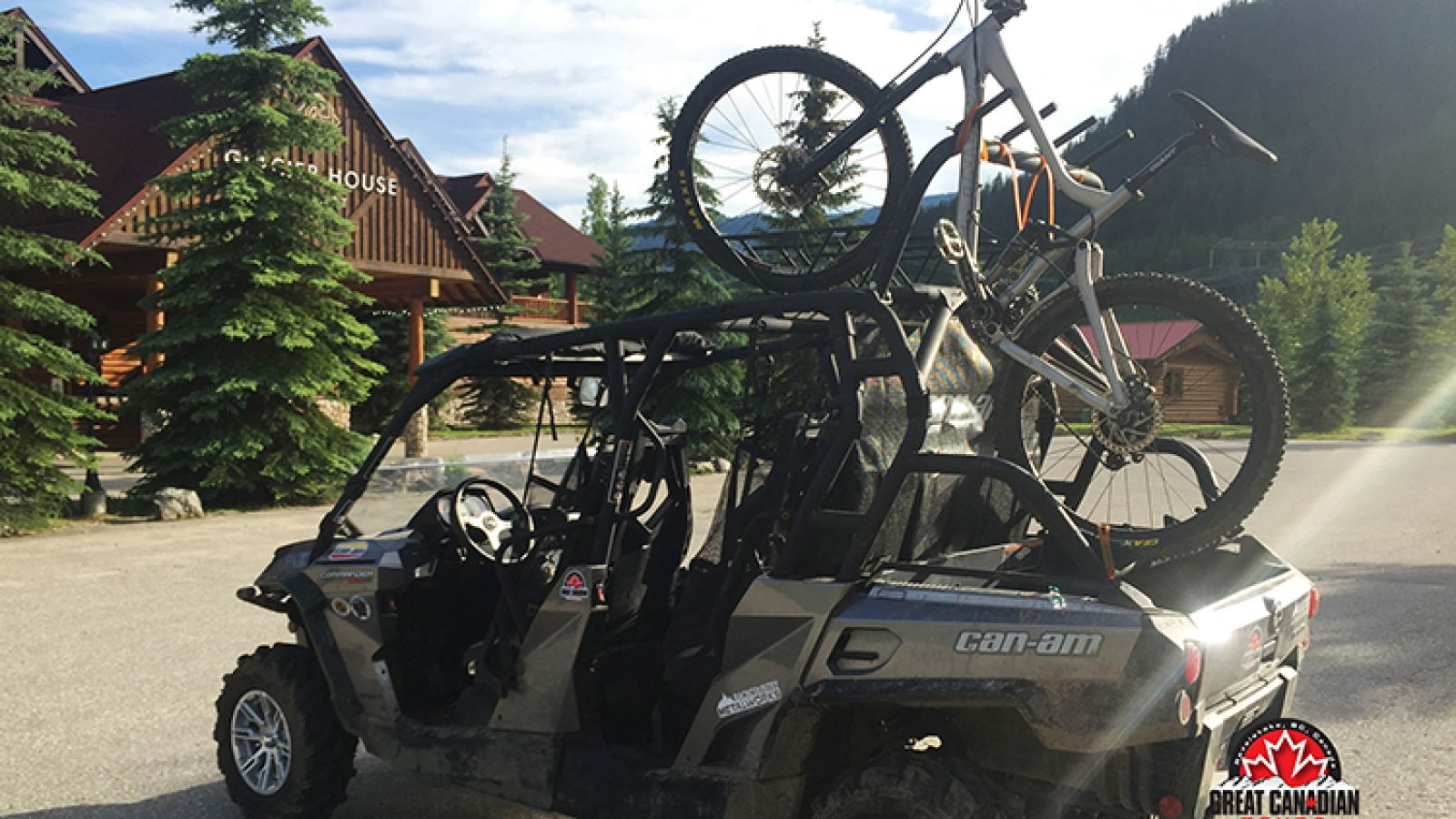 Explore the roads on Boulder Mountain and Frisby Ridge in these robust machines.