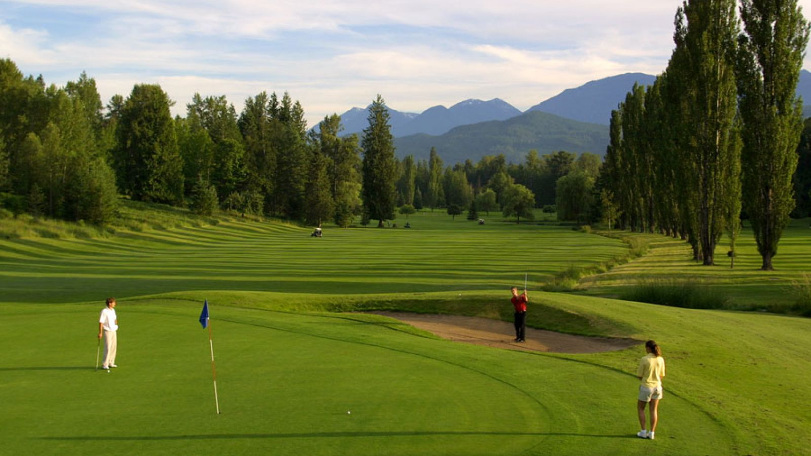 Kokanee Springs Golf Resort in Crawford Bay.