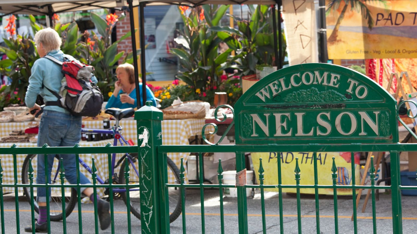 The heritage city of Nelson welcomes you.