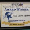 Award Winner: Best Sporting Goods.