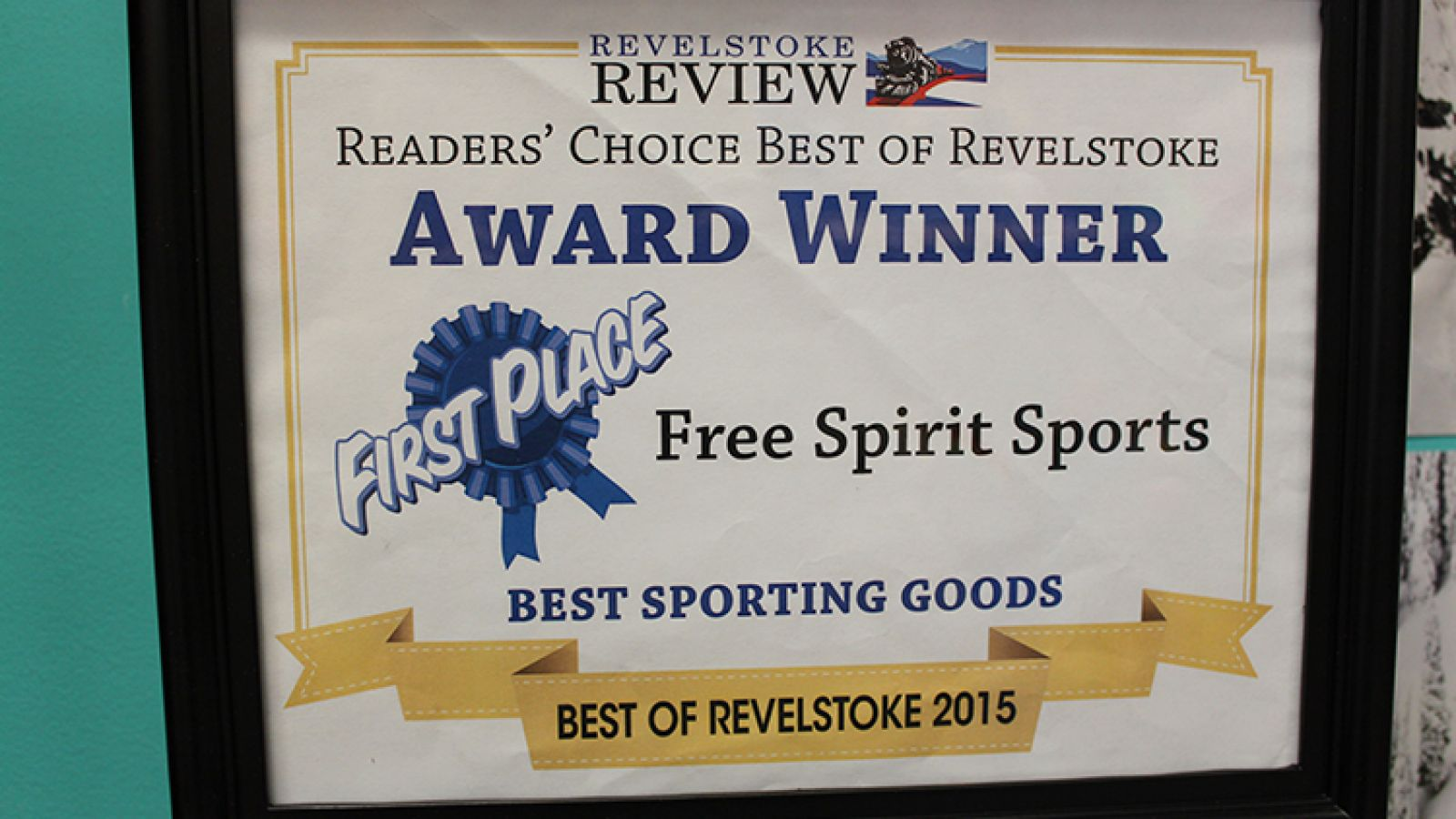 Award Winner: Best Sporting Goods.