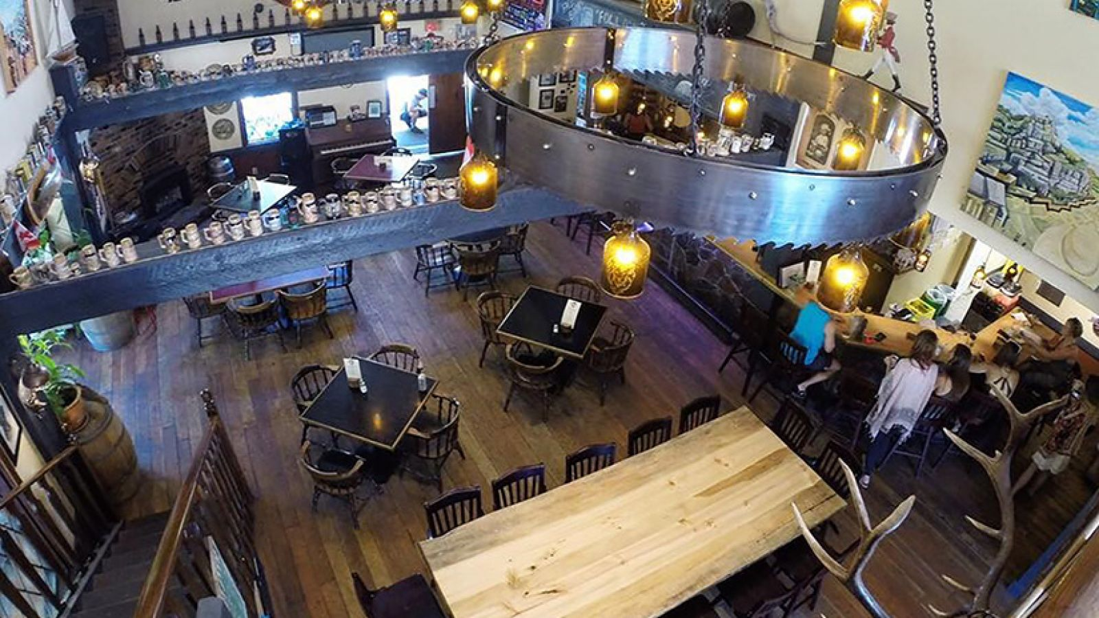Grab your friends and a frosty pint.