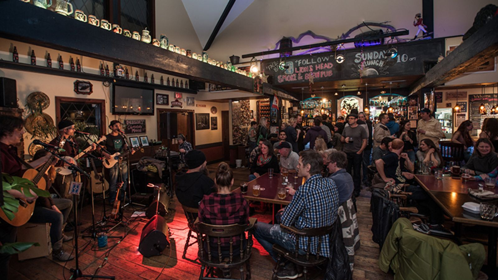 Great food with special events.
