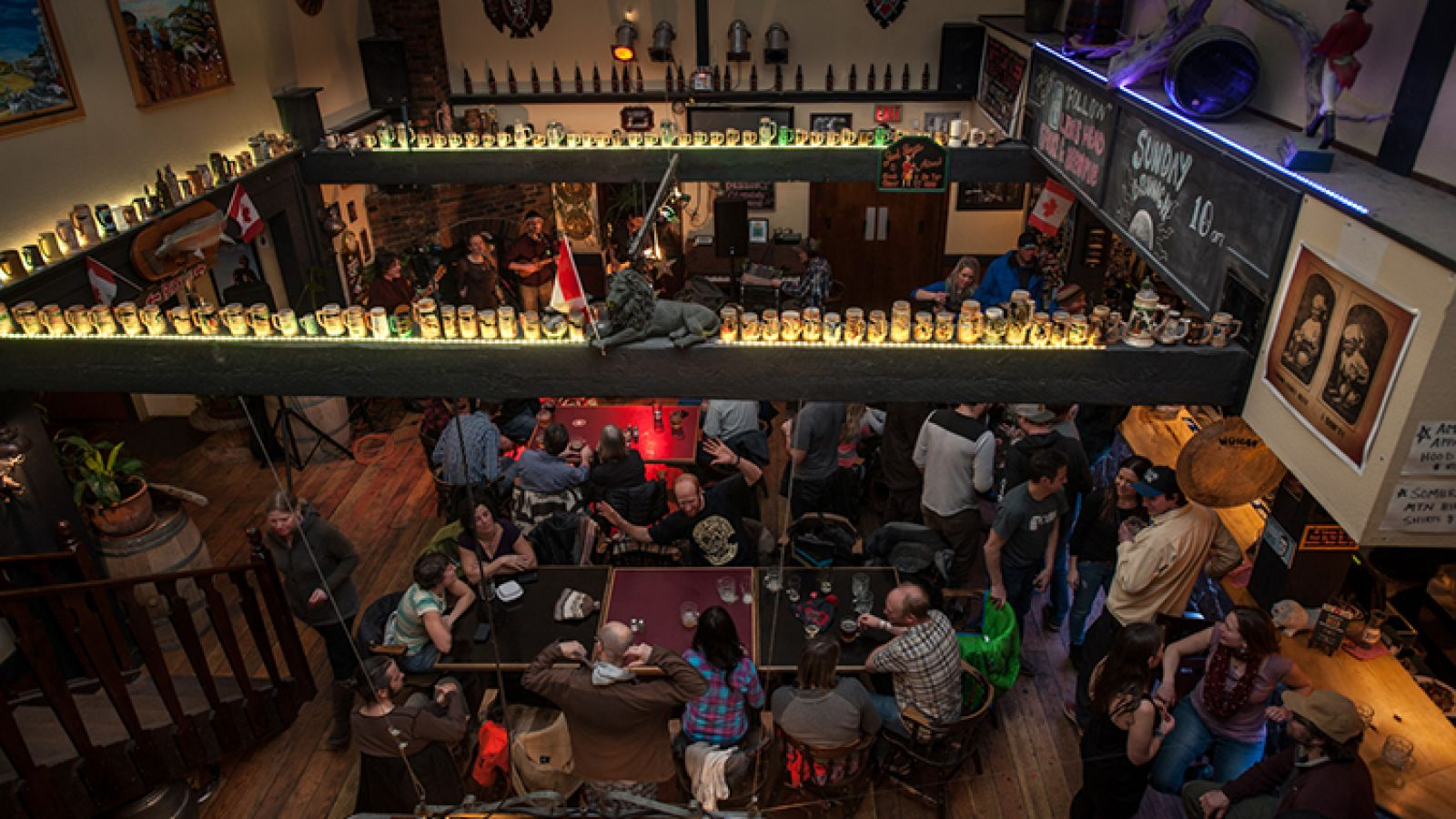 Great food and a fun atmosphere.