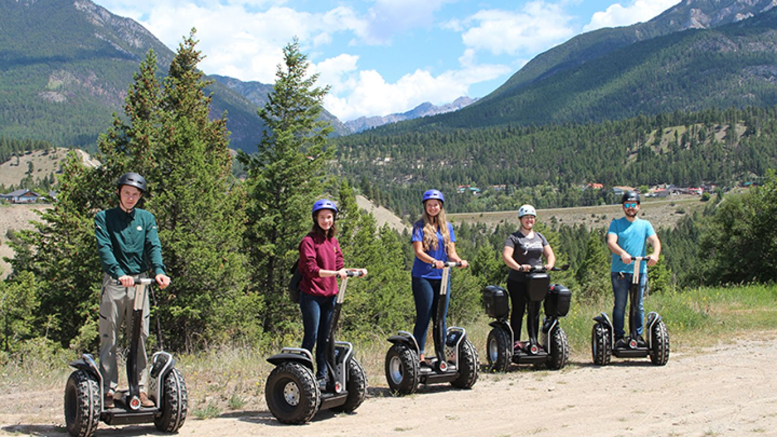 Fun for the whole family - Segway Tours.