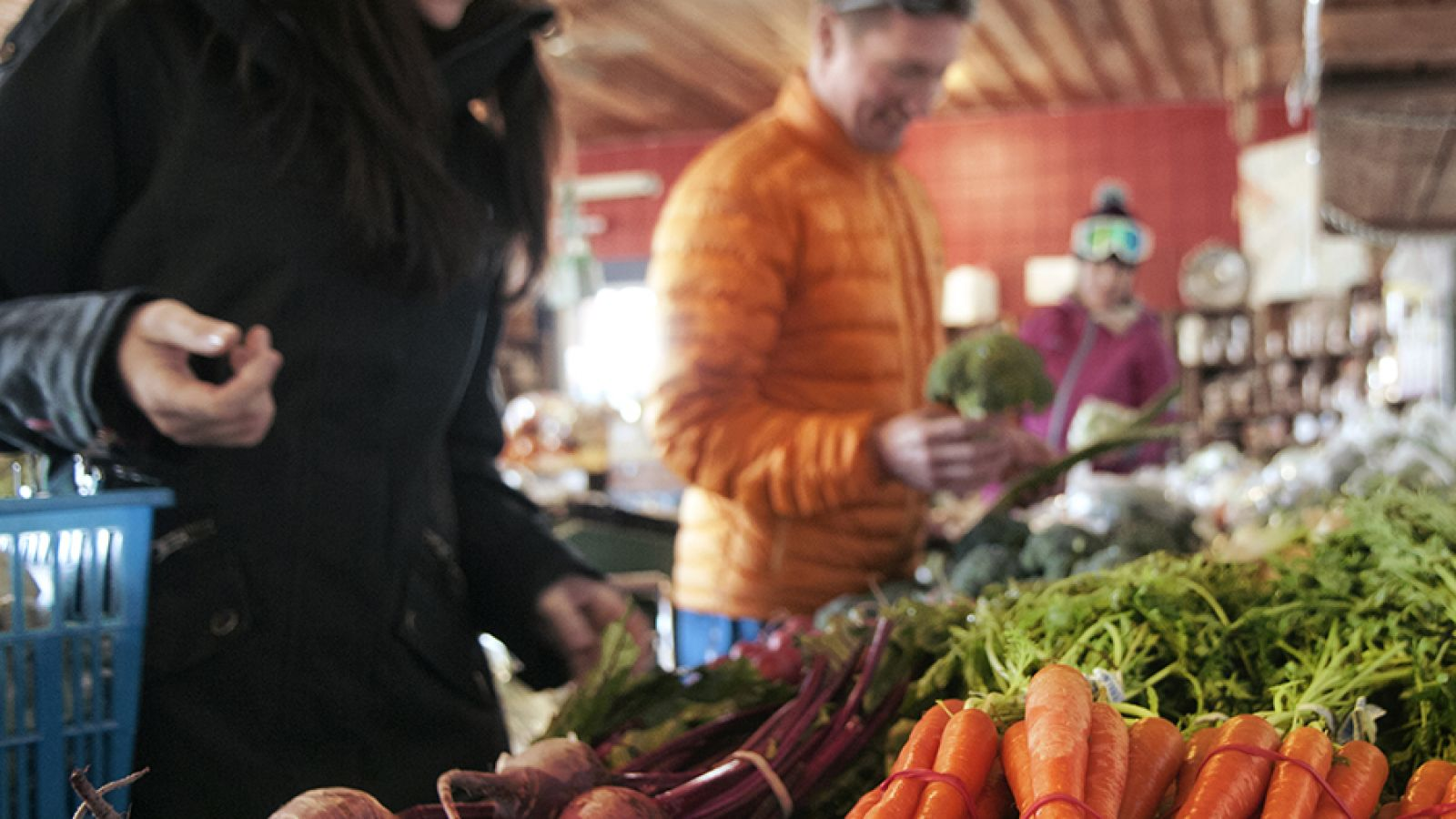 Farmers Markets offer wonderful fresh produce.