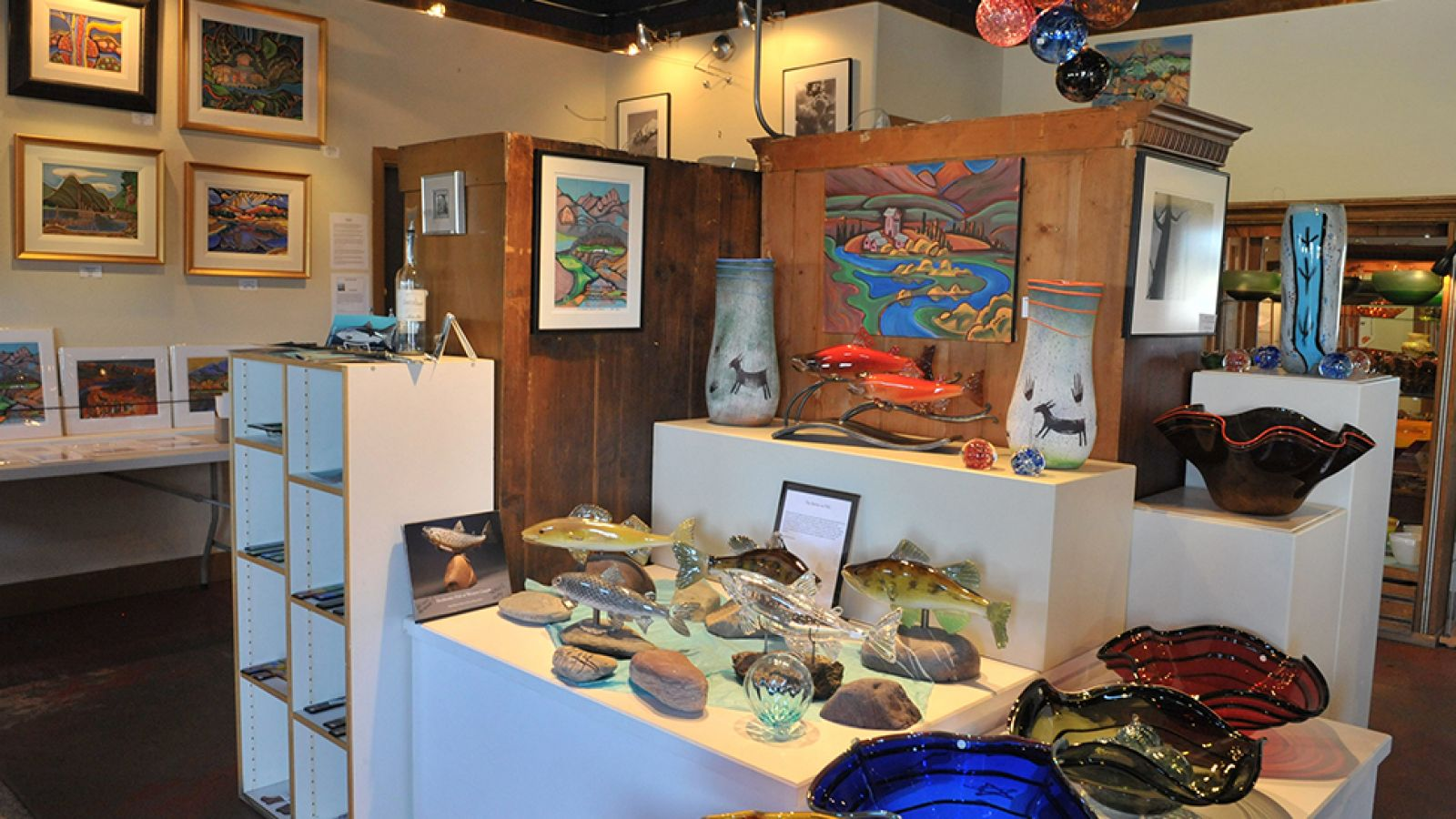 Explore the many galleries and shops in Invermere.