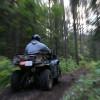 ATVing.