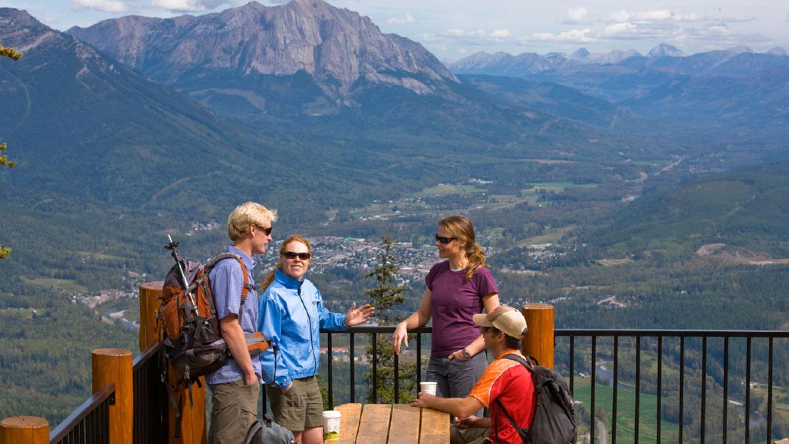 Summer at Fernie Alpine Resort.