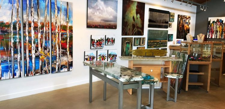 Effusion Art Gallery & Glass Studio