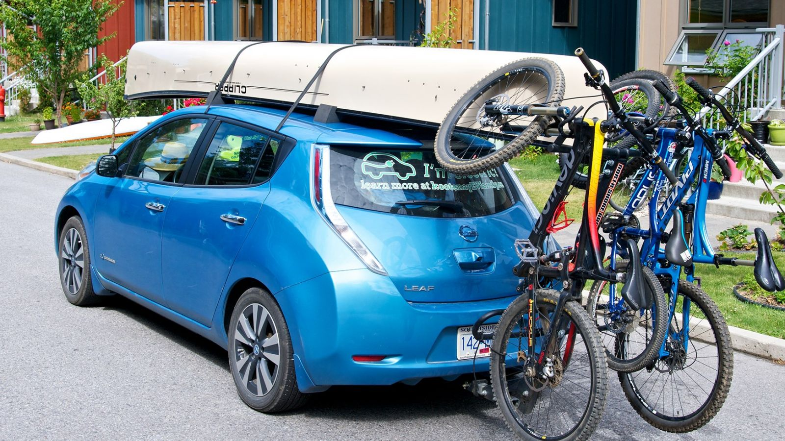 EV Travel and Kootenay lifestyle go hand-in-hand. KootenayEVFamily.ca