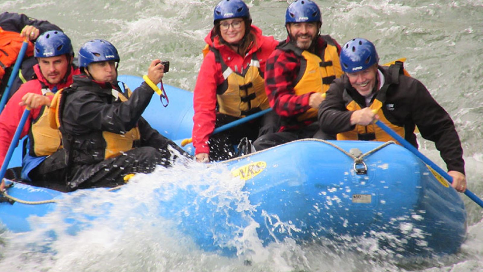River rafting.