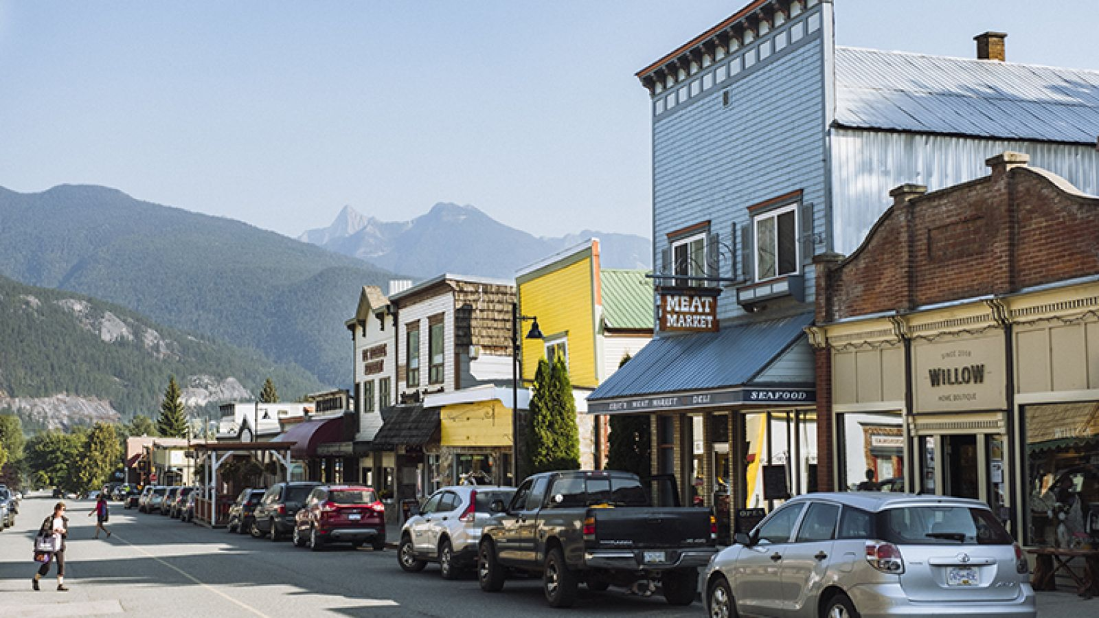 Kaslo has a great downtown.