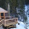 The Nest yurt.