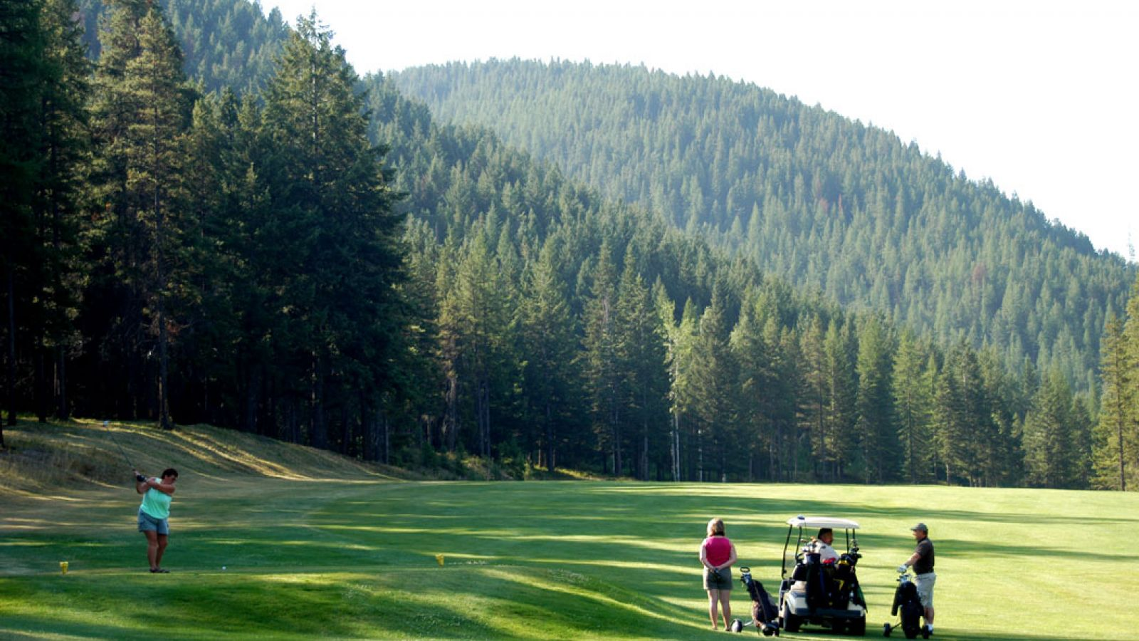 Sparwood Golf Course.