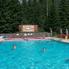 The resort offers a natural mineral hot pool and swimming pool.