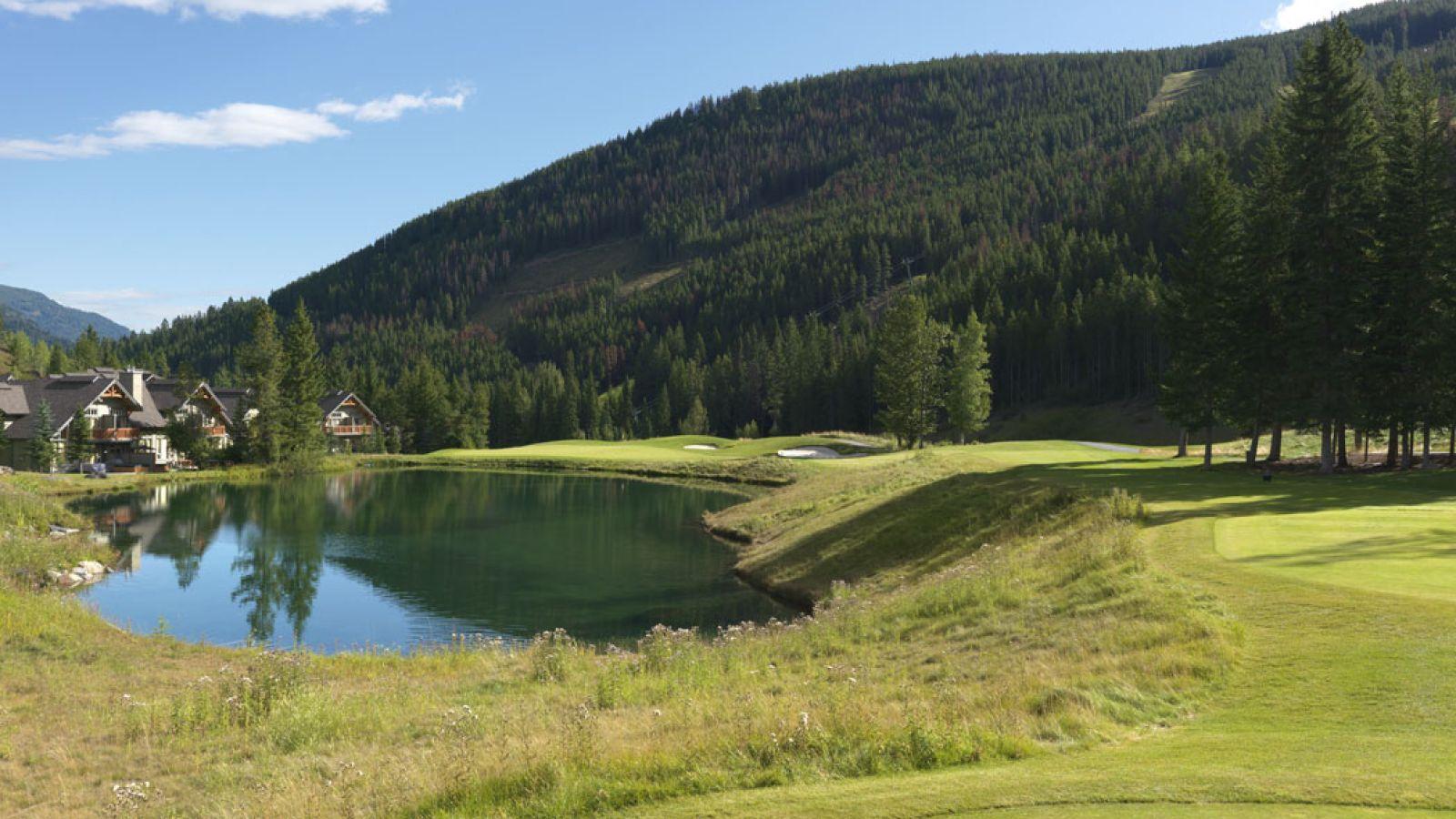 Hole #9, Wolf's Lake.