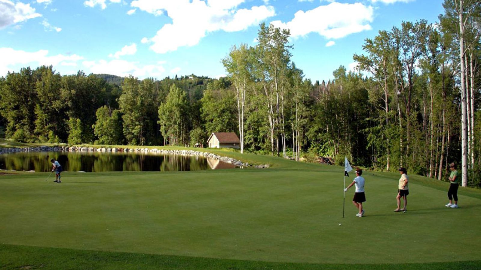 Stunning conditions and championship quality greens.