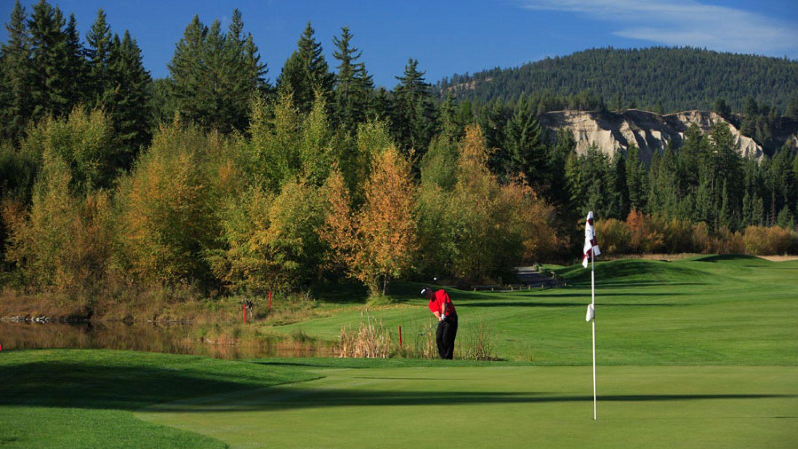 A Les Furber designed golf course.