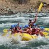 Wilderness whitewater rafting.