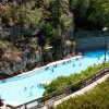 Nearby Radium Hot Springs pool.